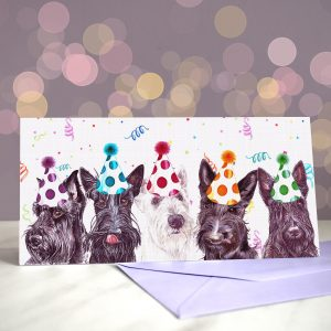 She Scott the Look – Scottish Terrier Greeting Card