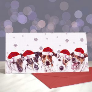 Shake, Russell & Roll Christmas Greeting Card