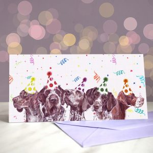 Pointer Brothers (They're So Excited) Greeting Card
