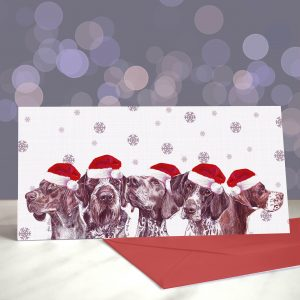 Pointer Brothers – They're So Excited – Greeting Cards (Christmas)