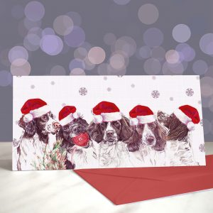 If You Like It You Should Put A Spring On It – Springer Christmas Greeting Card