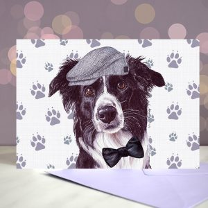 Custom Printed Father's Day Card – Choice of Your Own Breed