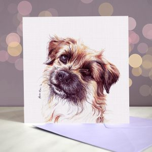 Pyrenean Sheepdog – Greeting Card
