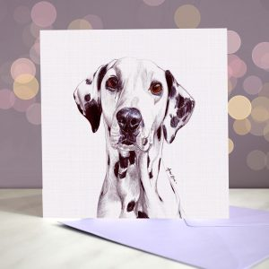 Dalmatian – Greeting Card