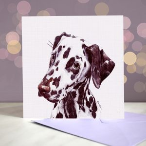 Dalmatian – Liver – Greeting Card