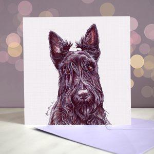 Scottish Terrier – Greeting Card