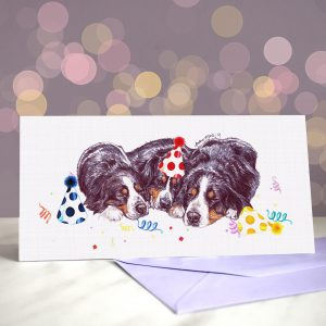 Bern Out! – Greeting Card