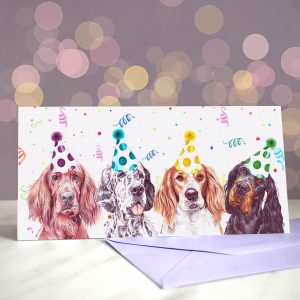 TrendSetters – Greeting Card of Setters