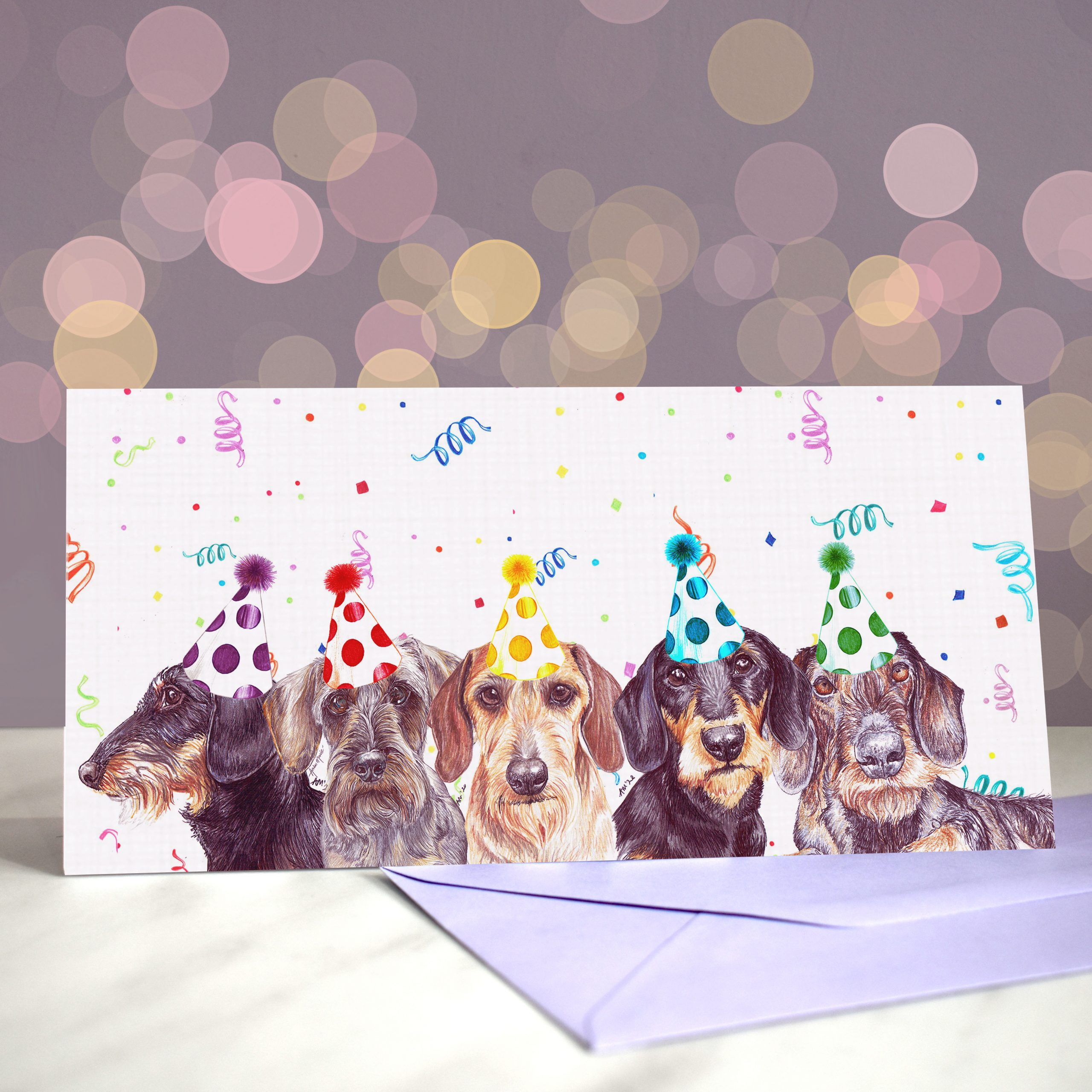 Bokeh Background DL Wire You Dachshund Around