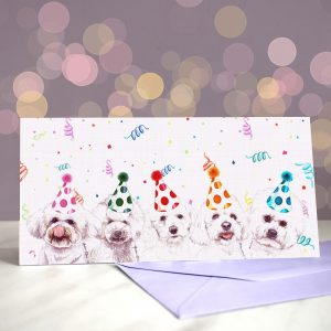 Bichon Frisestyle Greeting Cards