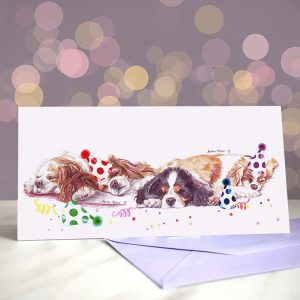 Noble Nappers – Greeting Card