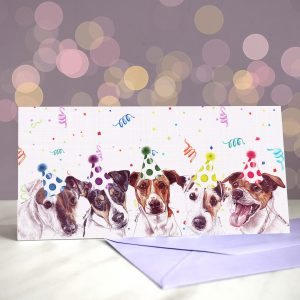 Shake, Russell & Roll Greeting Card