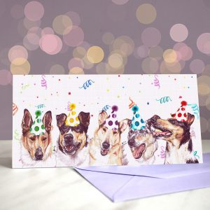 Smooth Collie Criminals – Greeting Card