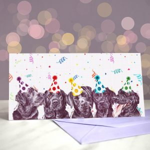 Welcome to the Black Pawade – Greeting Card
