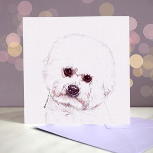 Bichon Frise – Greeting Card