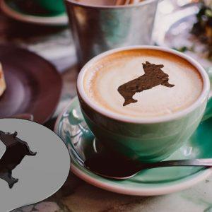 Latte Stencils – Breed Silhouettes