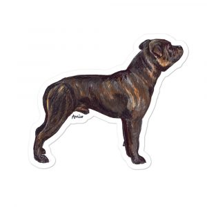 Staffordshire Bull Terrier – Shaped Stickers