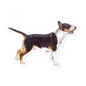 Bull Terrier – Shaped Stickers