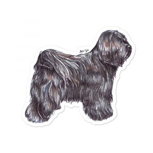 Tibetan Terrier – Shaped Stickers
