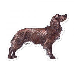 Cocker Spaniel (Working) – Shaped Stickers