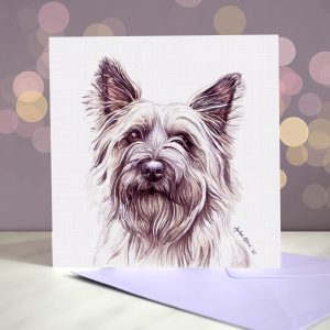 Cairn Terrier – Greeting Card