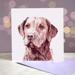 Chesapeake Bay Retriever – Greeting Card