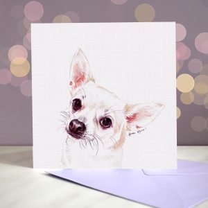 Chihuahua – Smooth Coat – Greeting Card