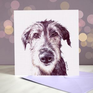 Scottish Deerhound – Greeting Card