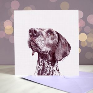 German Shorthaired Pointer – Greeting Card