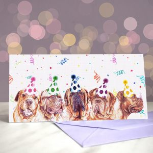 Dogue You Want Me Baby- Greeting Card