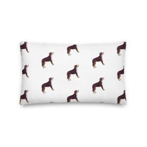 I Don't Wanna Swiss a Thing – Long Pillow
