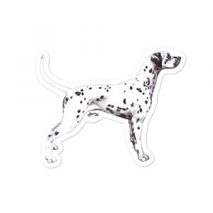 Dalmatian – Shaped Gift Tags (Pack of Three)