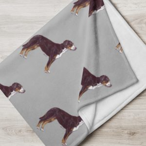 Greater Swiss Mountain Dog – Throw Blanket