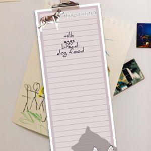 Siberian Husky – Shopping List