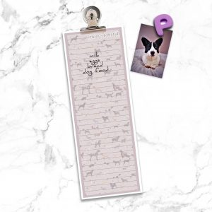 Pomeranian – Shopping List