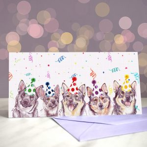 Why Don't You Come On Over Vallhundrie – Greeting Card