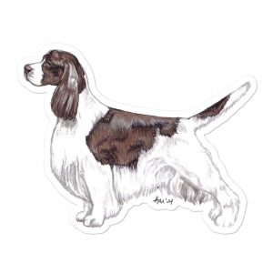 Springer Spaniel – Shaped Stickers