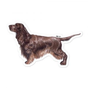 Field Spaniel – Breed Shape Stickers