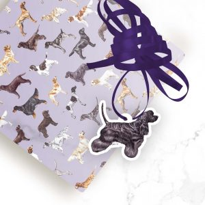American Cocker Spaniel – Shaped Gift Tags (Pack of Three)