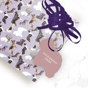 Beauceron – Shaped Gift Tags (Pack of Three)