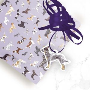Australian Cattle Dog – Shaped Gift Tags (Pack of Three)