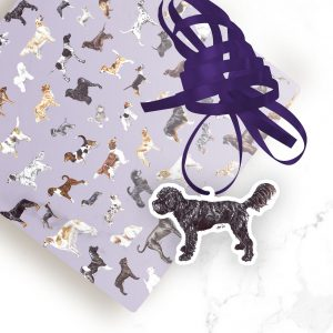 Cockapoo – Shaped Gift Tags (Pack of Three)