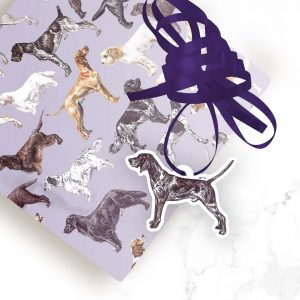 German Shorthaired Pointer – Shaped Gift Tags (Pack of Three)