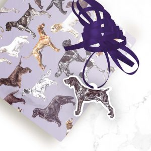 German Shorthaired Pointer Docked – Shaped Gift Tags (Pack of Three)