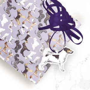 Jack Russell Terrier – Shaped Gift Tags (Pack of Three)