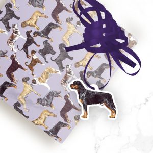 Rottweiler – Shaped Gift Tags (Pack of Three)