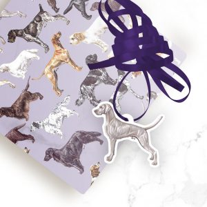 Weimaraner – Shaped Gift Tags (Pack of Three)