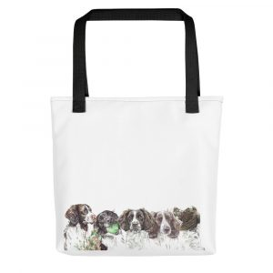 Springers on a Spree – Tote bag