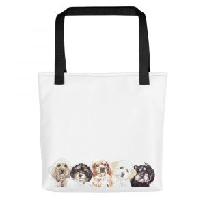 Don't Stop the Cava-lry -Tote bag
