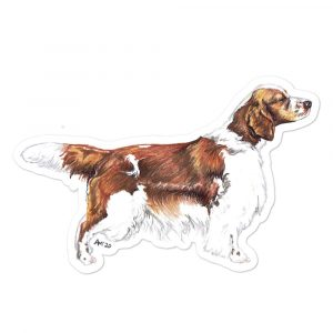 Welsh Springer Spaniel – Breed Shape Stickers